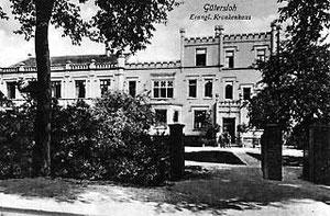 Evangelisches Krankenhaus nach der dritten Erweiterung um 1910