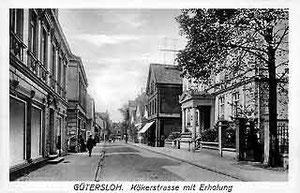 "Postkarte: ""Kökerstraße mit Erholung"""
