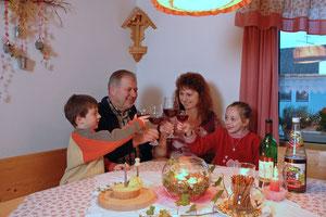 Familie Schneider vom Baby- und Kinderbauernhof Schneiderhof