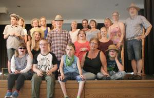 """""""Unter der Sonne der Balearen"""" heißt es am Sonntag, 23. Juli, um 17 Uhr, im Zeiler Rudolph-Winkler-Haus. Dann öffnet sich dort der Vorhang für die Musicalgruppe """"Musicalgruppe"""" des Bereiches """"Offene Hilfen"""" der Lebenshilfe Haßberge e. V."""