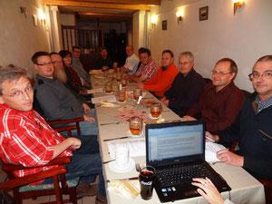 Die Teilnehmer der Gründungsversammlung