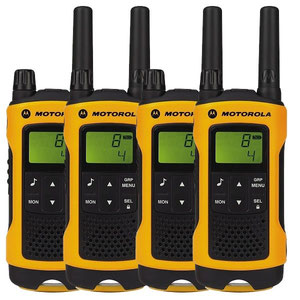 Pack 4 talkies Motorola TLKR