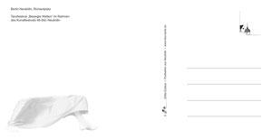 """Rückseite der Postkartenserie """"Bewegte Welten"""""""