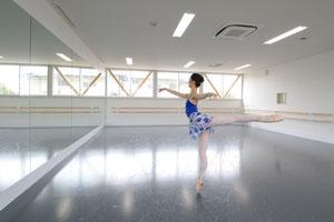 バレエスタジオ練習風景