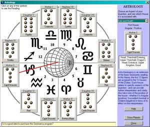 BC200年頃に現在のトルコからイスラム圏で始まったと言われる、地相と星座を組み合わせた家相盤
