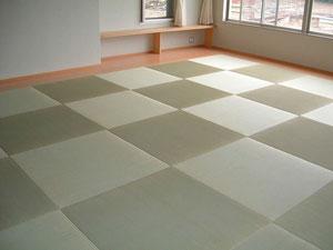 これって何帖でしょう  畳の敷き方も色々と変化してきました