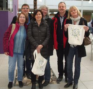 """Mitarbeiter der Evangelischen Paul-Gerhardt-Gemeinde auf dem """"Tag der Engagierten"""" 2015 in Lahr"""