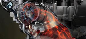 El motor TSI 1.4 es el primer motor con inyección directa de gasolina y sobrealimentación doble.     Los ingenieros de Volkswagen consiguieron estandarizar la tecnología TDI convirtiendo esta en un referente del mercado. A esta tecnología le llegaron a ex