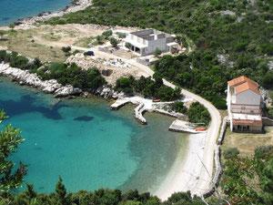Strand Richtung Dubrovnik