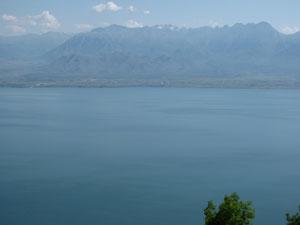Der Skutarisee / Blick nach Albanien