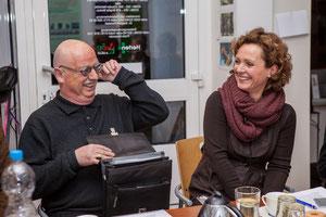 Christian Stratmann und Freia Lukat