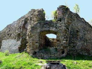 Східні ворота замку.