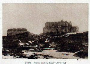 Замок на початку XX ст.