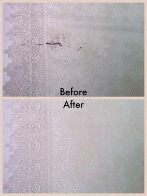 家具用ペンキの染み抜き