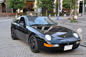 LifeTeria blog Porsche 968CS