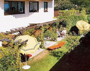Terrasse für jedes Appartement