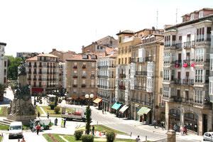 Centrum van Vitoria