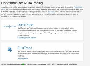 avatrade trading automatico zulutrade e duplitrade