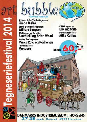 Art Bubble Festivalplakat 2014 international