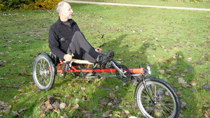 Le tricycle delta Kettwiesel de Hase