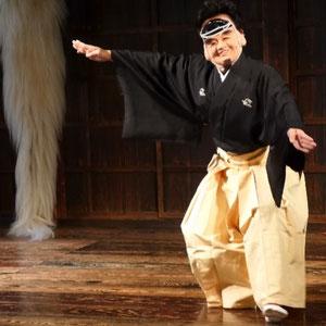 歌舞伎の立ち廻り(代々木第一体育館)