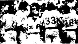 Del Unser reached first on an error in the ninth.