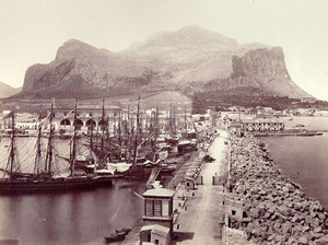 The old Palermo's harbour