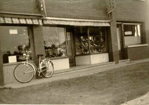 Brandstraat - 1950
