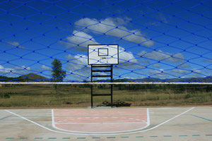 Il campo di Basket e di Volley