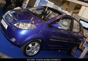 Elektroauto der Fräger Gruppe mit Fräger Elektroantrieb