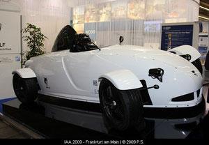 Elektro Rennwagen E1 von E-Wolf