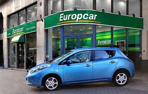 Nissan Leaf bei Europcar mieten