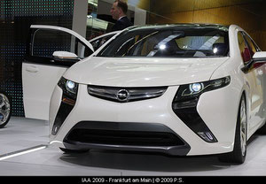 Opel Ampera auf der IAA