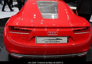 Audi e-tron Elektrosportwagen