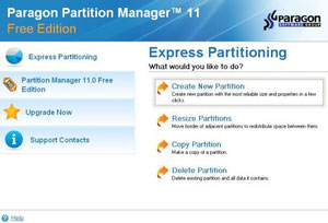 Partition Manager Free Edition