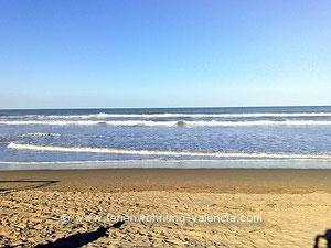 Auf dem Bild: Playa de Gandia, Foto von Birgitta, Ferienwohnung-Valencia, © Birgitta