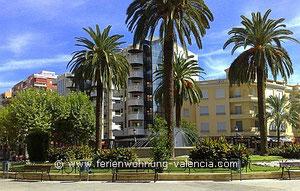 Gandia, Placa de Christ Rei  - 5 km entfernt von der Ferienwohnung Valencia