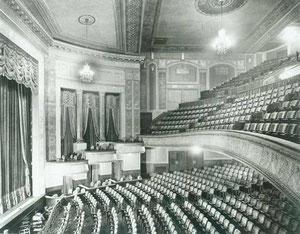 The auditorium of the Imperial Theatre