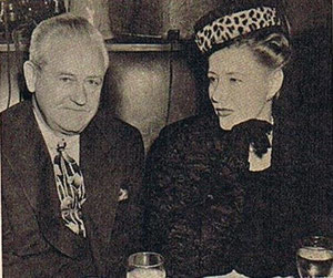 Irene, here with husband Dr.Fancis Griffin, has been getting along famously in Hollywood for sixteen years