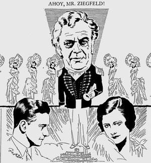 Charles Marsh, Charles Winninger and Irene