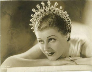 "Irene in her great success, ""Roberta"". She will make ""Magnificent Obsession"" and ""Show Boat"" on a loan to Universal"