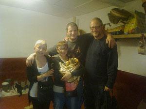 Ornella, Claudia, Erminio e Giovanni