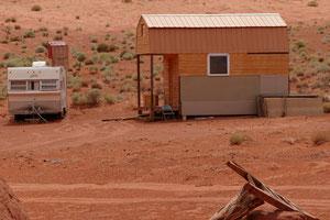 Wohnwagen und Tiny House