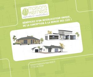 Maisons Kernest, votre constructeur pour construire votre maison à Blain.