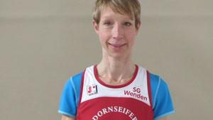 Gesamtsiegerin über 28 km: Sandra Klein