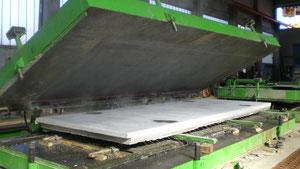 Mesas de volteo para doble pared de hormigón