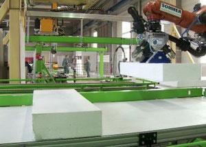 Robot colocación polispan