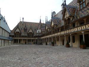 Innenhof historisches Hospiz Beaune