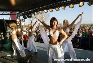Die radio SAW Dancer sind bei vielen Events dabei!