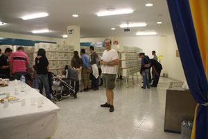 Salón del evento